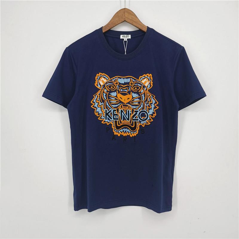 Real Photos Mode Marque Hommes T-Shirts imprimés Filles T-shirts manches courtes chemises de tête de tigre Femmes d'été T-shirts de qualité supérieure C3CVT 2031700V
