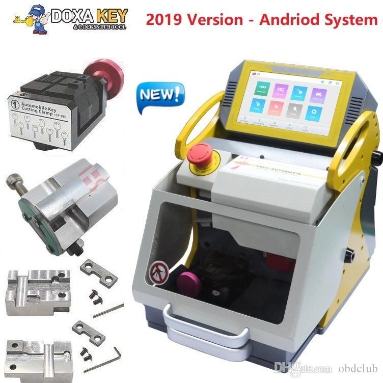 2020 DHL multi-langue clé automatique des outils de coupe de verrouillage machine SEC E9 machine clé de copie meilleure que la machine A7 + pour faire des clés de voiture