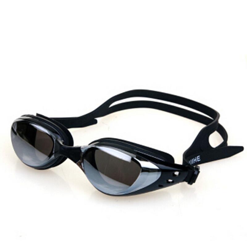 جديد قابل للتعديل لمكافحة الضباب فوق البنفسجية درع حماية سيليكون الرجال النساء نظارات السباحة مقاومة الماء الكبار السباحة نظارات الرياضات المائية