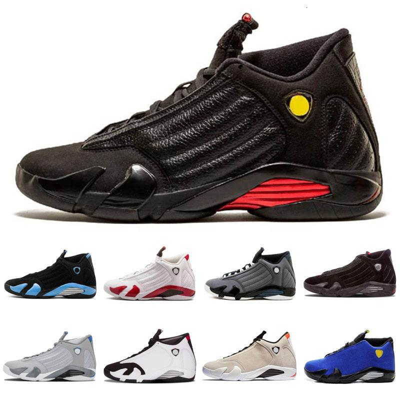 Jumpman 14 Reverse Ferr Yellow DB Rip Hamilton Red Suede Light Graphite Basketball Shoes Men 14s Sup Black Toe Desert Sand Indiglo Sneakers