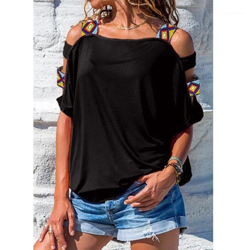 Clássica de manga curta cor sólida Impresso Tops Plus Size Mulheres roupas soltas Verão Designer Womens camisetas Casaul