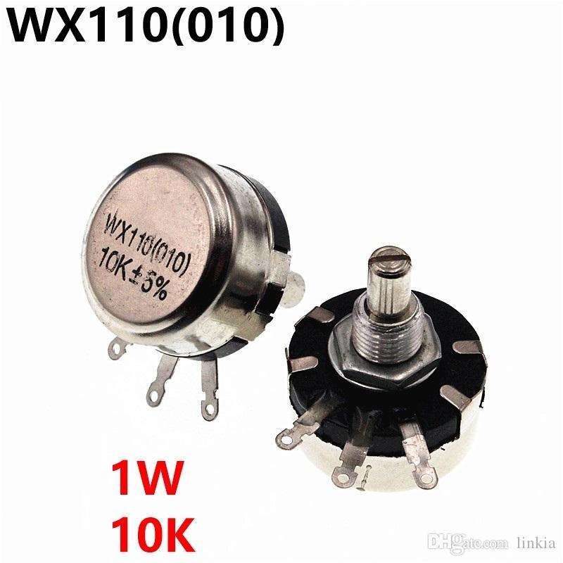 WX110 WX010 010 1W 10K potenziometro regolabile resistenze