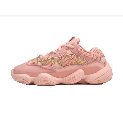 2019 Salt 500 Kanye West Tênis de Corrida Super Lua Amarelo Blush Deserto Rato 500 Homens Esporte designer de luxo Sapatilhas das Mulheres Sapatos Casuais