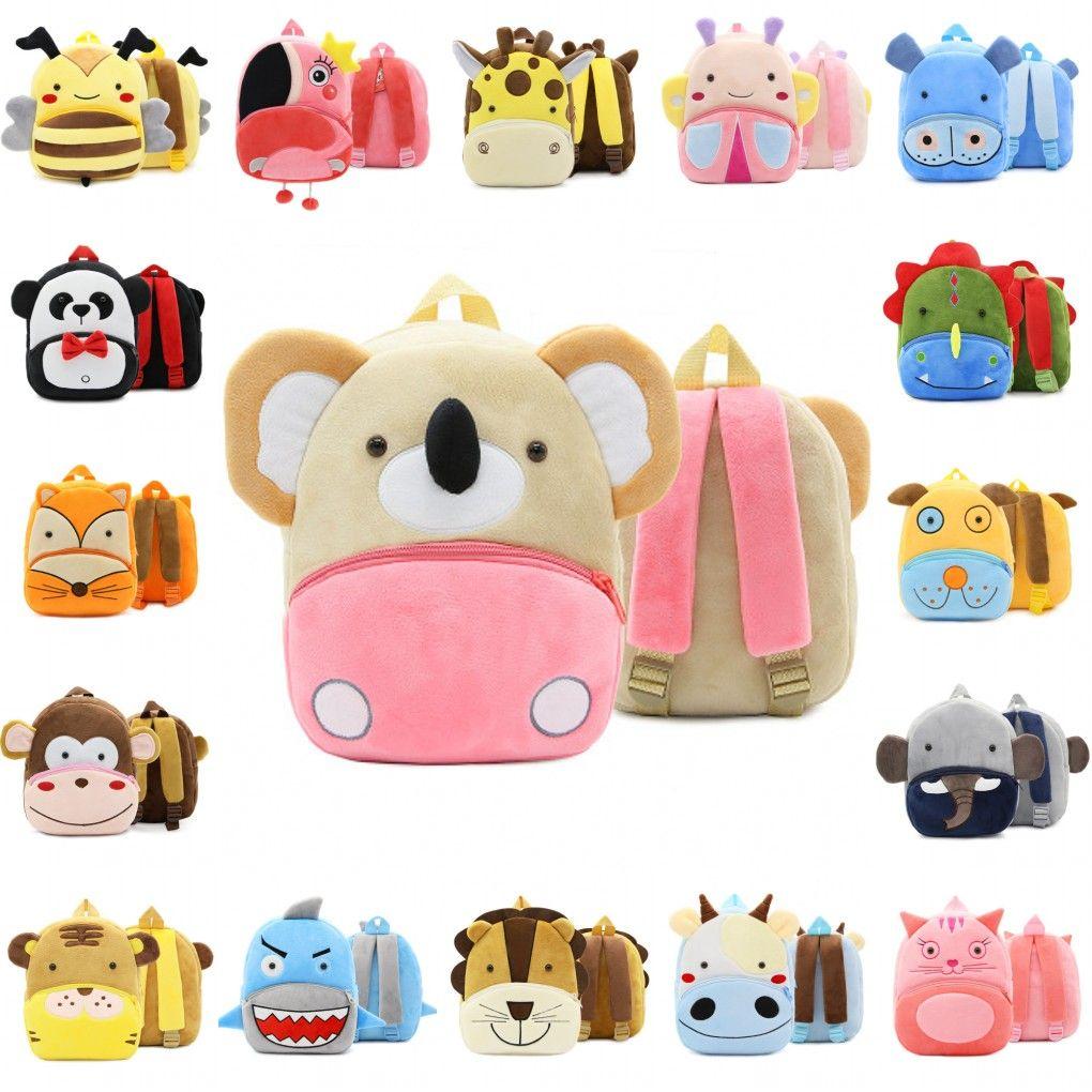 Kids Girls Boys Cartoon Mini Satchel Plush Bag Coin Purse Wallet Baby Cute Gift