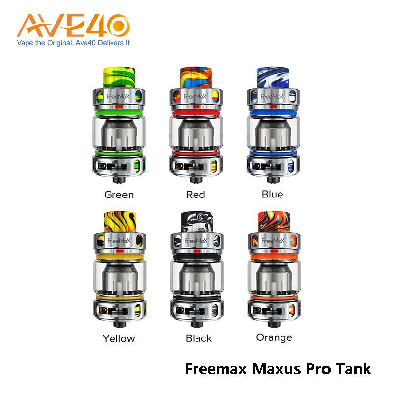 Original Freemax Maxus Pro Tank 5ml Capacity 810 Drip Tip fit with 904L M1 Mesh Coil