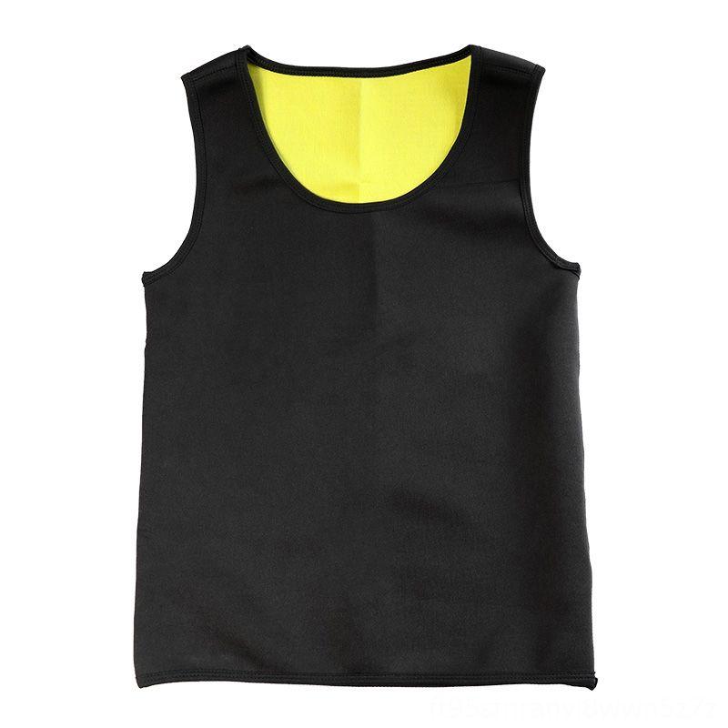 Belly Slimming Belt Homens Emagrecimento Vest Shaper Corpo Neoprene Abdomen queima Shapewear Correndo desgaste atlético Outdoor Vestuário cintura suor Cor