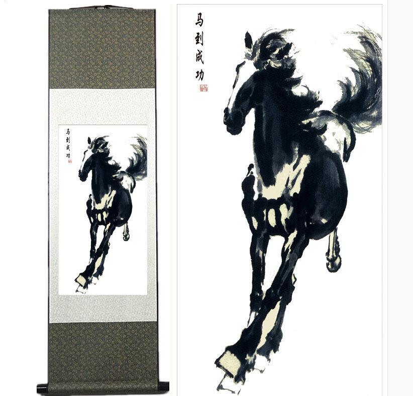 Высокое качество традиционного китайского искусства, китайская живопись, декоративная роспись