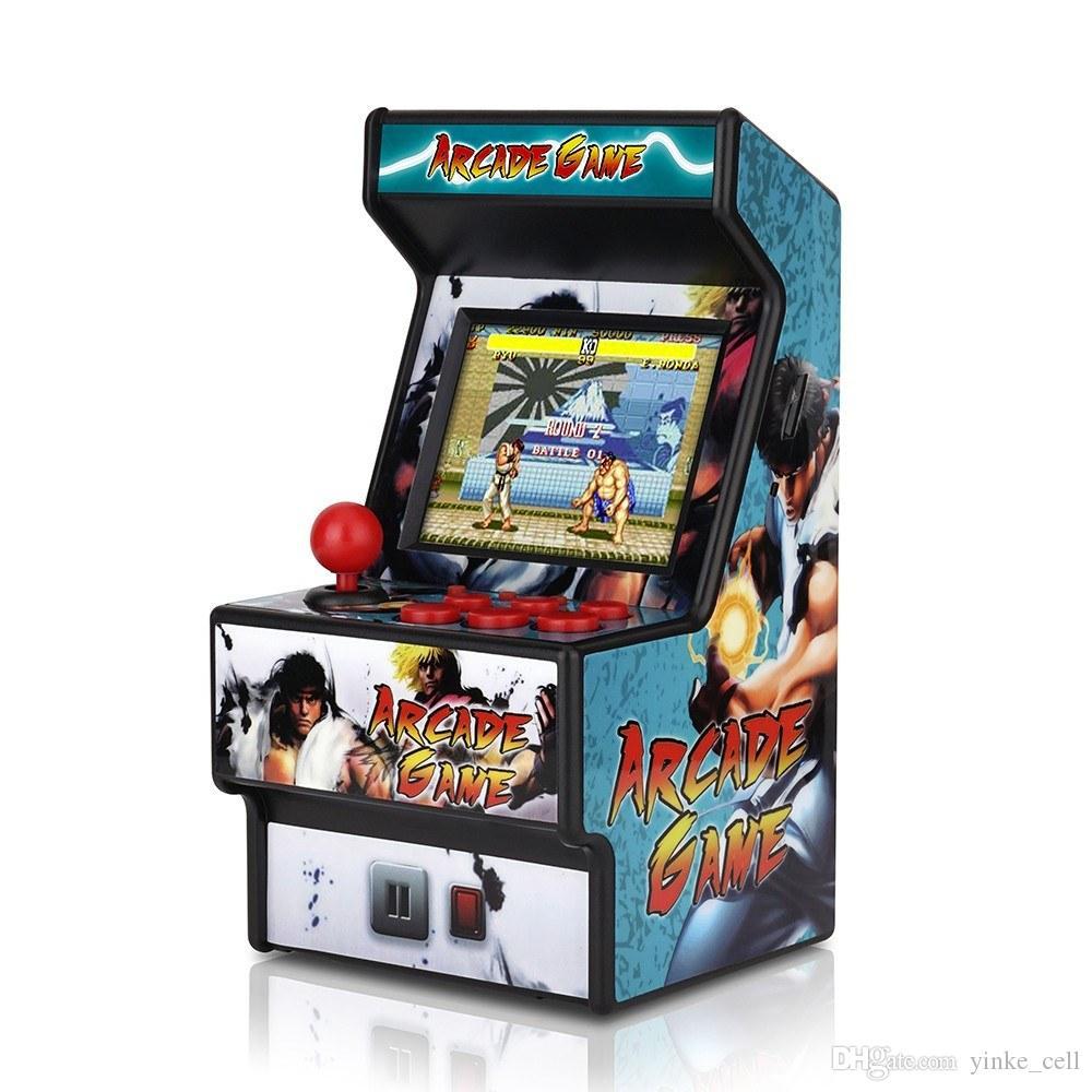 Portable Retro console portatile a 16 bit Mini Classic Arcade Games Player Macchina per adulti bambini