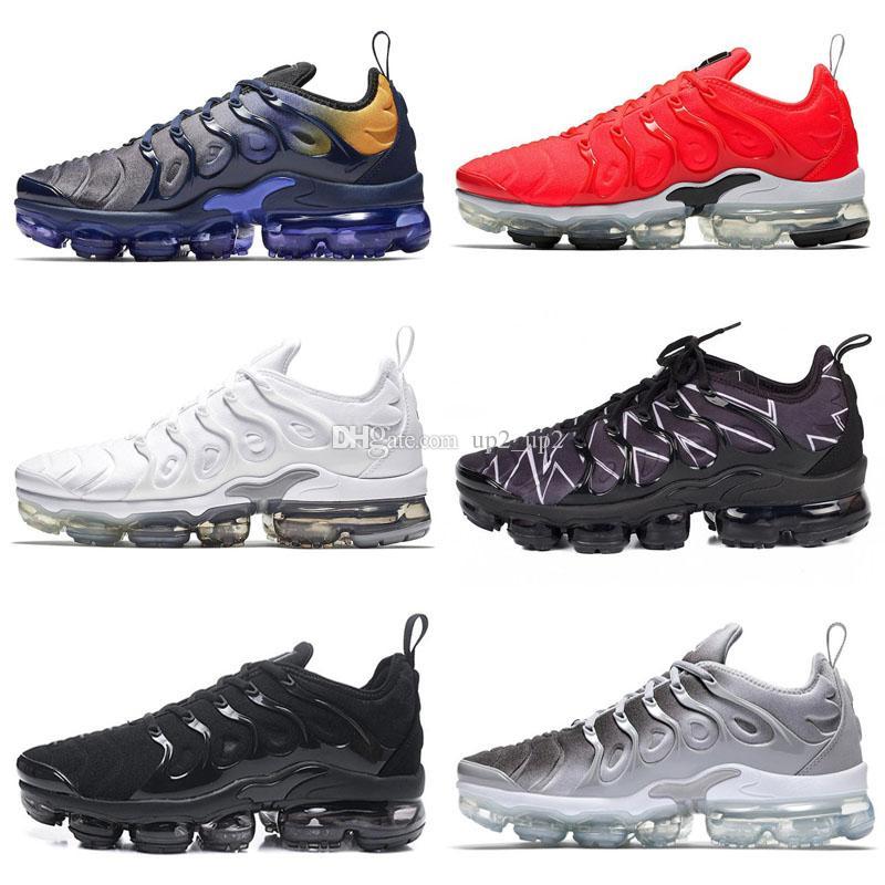 Erkekler Kadınlar Smokey Leylak Dize colorways Zeytin In Metalik Tasarımcı Üçlü Trainer Sport Sneakers 2019 için TN Artı Açık Ayakkabı