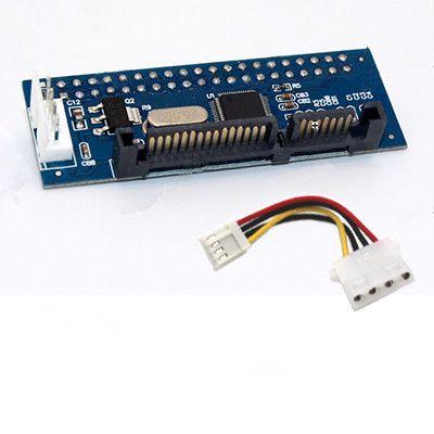 Eski Moda Sabit Disk Optik Sürücü Seri Port Paralel IDE Masaüstü Video Kaydedici için SATA Konnektör Adaptörü Kartı