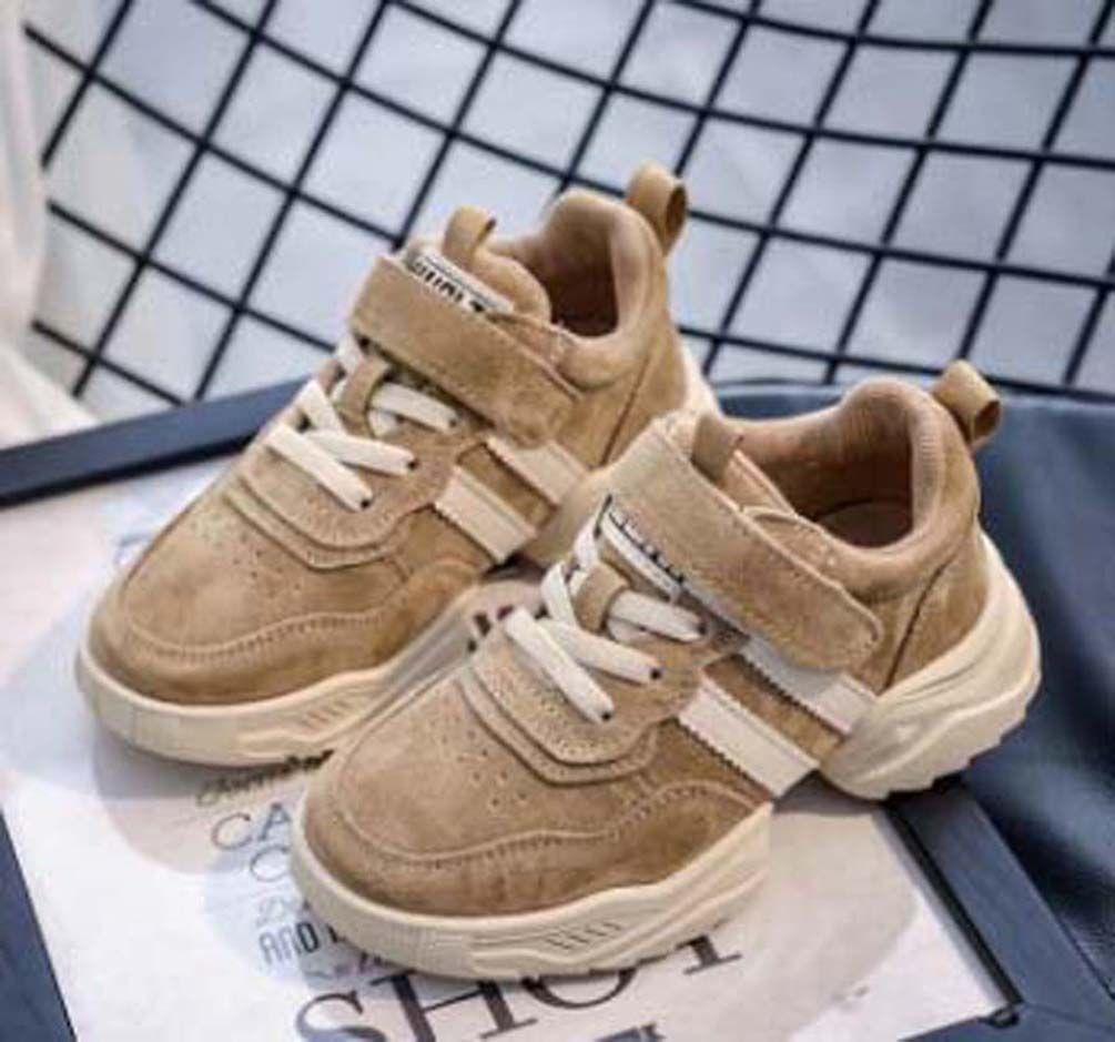 Top Quality Classic Sneaker chaussures enfants Fashion Smart triple kids shoes platform Leather shoes air chaussures shoes011 PX510