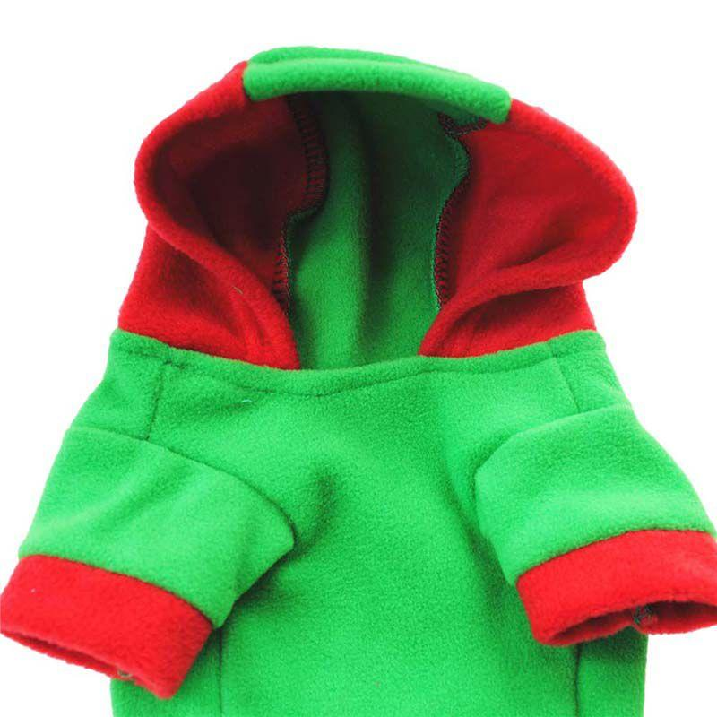 Christmas Dog Clothes Winter hoodies For french bulldog Chihuahua Pug Pet Small Puppy Clothing Outfit Ropa Perro Dog Costume HOT