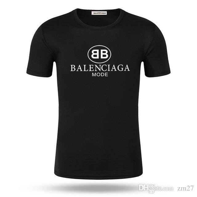 Sommer 2019 neue Top-Männer-T-Shirt mit hochwertiger Art und Weise druckte T-Shirt s-5xl