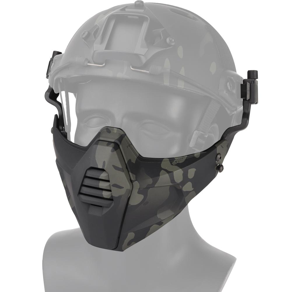 2020 Tactical Paintball Mask Half Face Protective Airsoft Mask Shooting Cs Hunting Accessories Outdoor Airsoft Cosplay Face Mask From Hung Elise 21 73 Dhgate Com