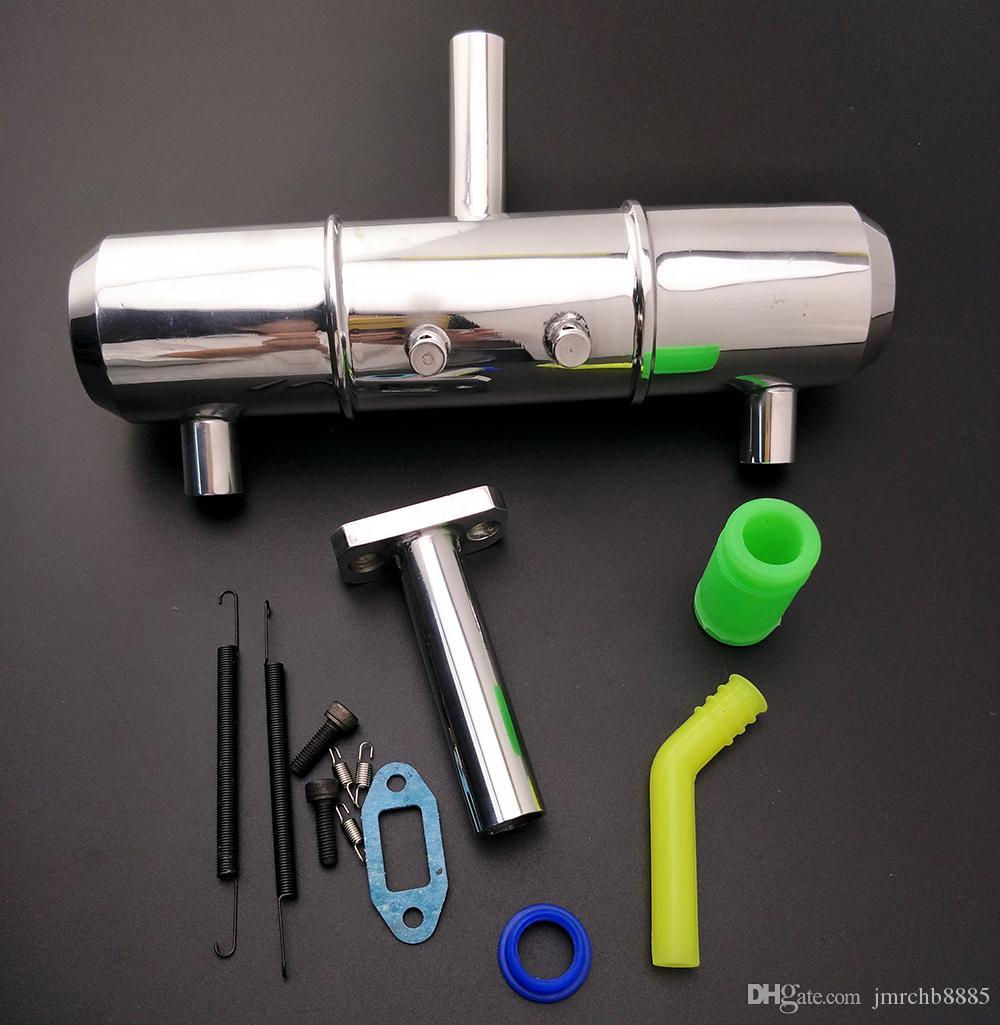 Rc Crawler Muffler tuned pipe para Rc 4.6S