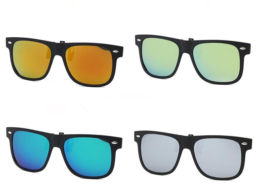 Ambientazione esterna della moda di New Beach marca di vetro TR90 Sunglasee per uomini e donne di sport unisex di vetro di Sun Black Frame TR90 Sunglasee 7Color libera S # 87