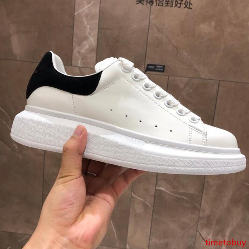 2020 Designer Fashion luxury Studded Spikes Appartamenti Scarpe Per Uomo Donna Glitter partito amanti del Cuoio Genuino Sneakers casual