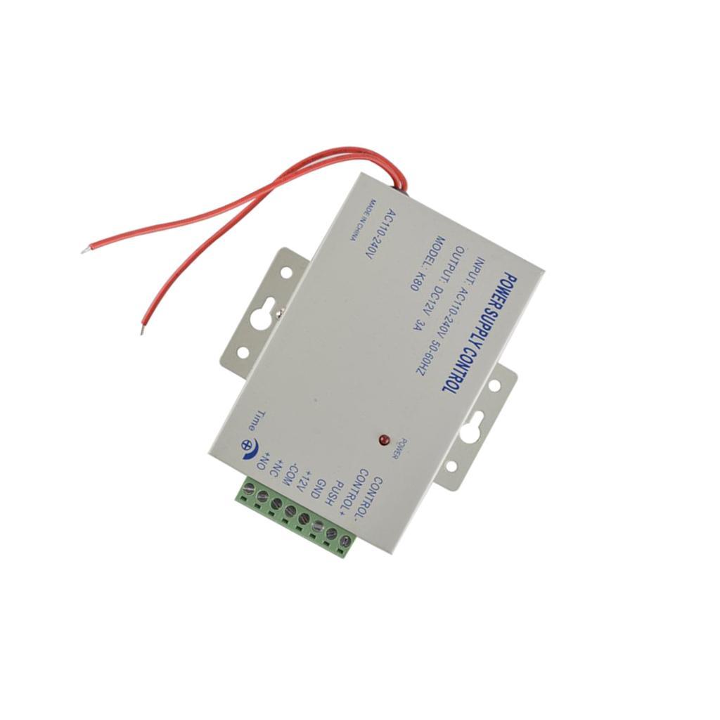 Qualité DC 12V3A / AC 110 ~ 240V alimentation spéciale pour porte de contrôle d'accès de verrouillage facile utilisation Commutateurs