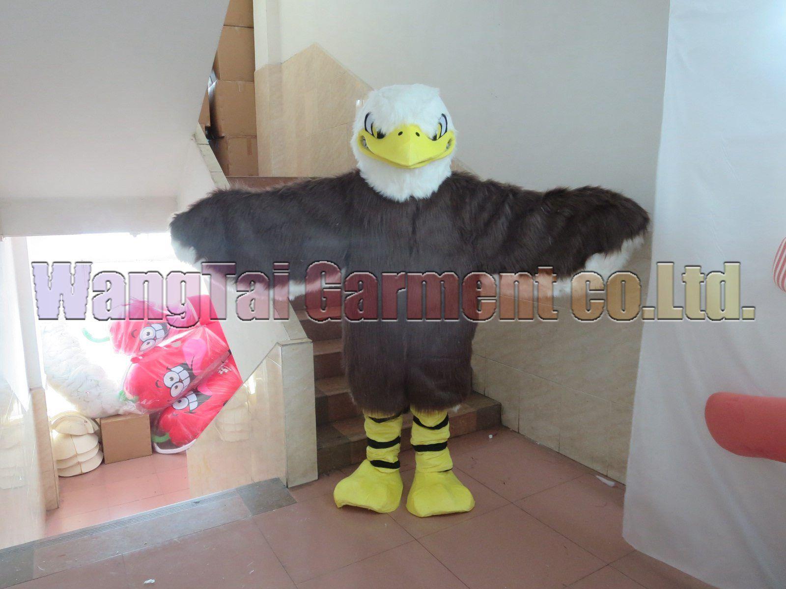 New Eagle-Maskottchen-Kostüm Erstklassig deluxe Zeichentrickfigur Kostüme Eagle-Maskottchen Klage Abendkleid Partei Karneval-freies Verschiffen