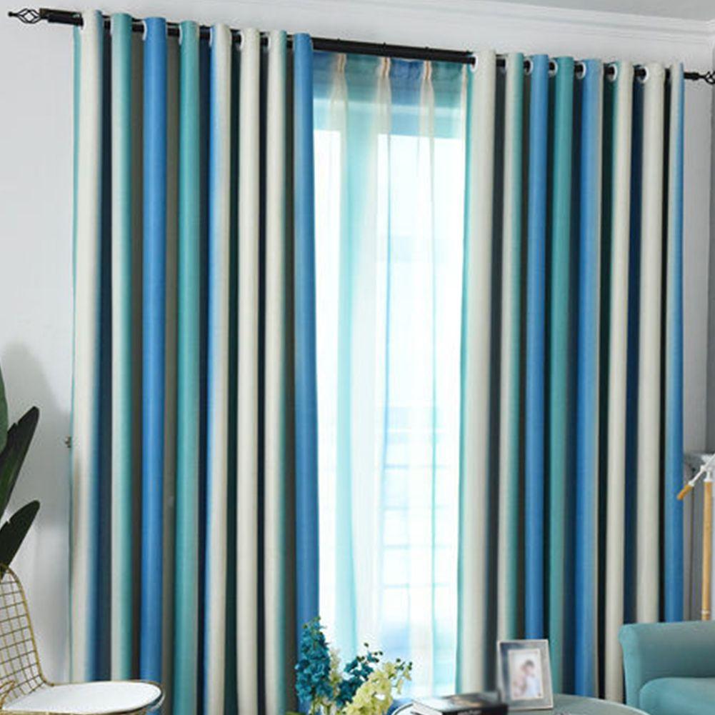 정전 얇은 명주 그물 화려한 무지개 커튼 침실 음영 우아한 창 커튼 현대 홈 인테리어는 거실 북유럽 스타일 매달려