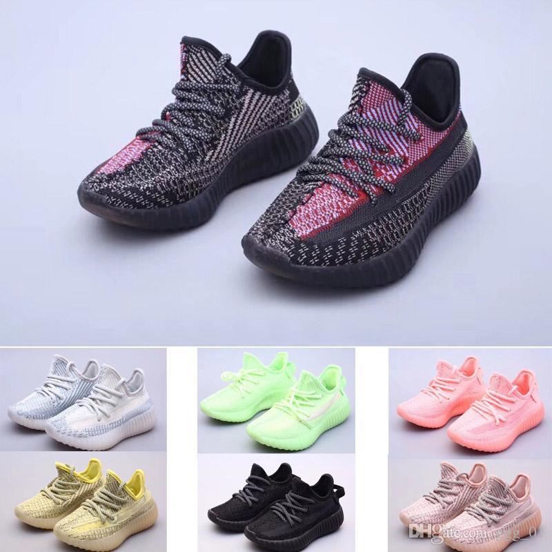 2020 호흡 v2 새로운 소년 소녀 청소년 아이 어린이 스포츠 신발 운동화 실행