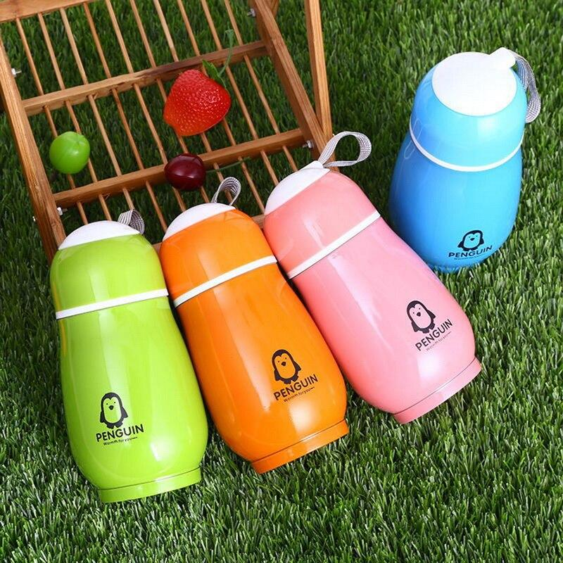 Rabbit Thermo Cup Kid Thermos Bottle For Water Thermo Mug Kid Cute Thermal Vacuum Flask Child Tumbler Thermocup Stainless Steel