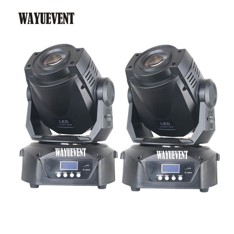 2pcs 90W Lyre cabeza móvil 90w led gobos luces 90W LED DJ Spot Light LED iluminación de escenario