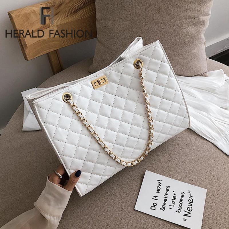 Сумки мода женщин поперечины сумки 2020 цепь плеча рука кожаные женские сумки Tote для сумки Большой OEDII