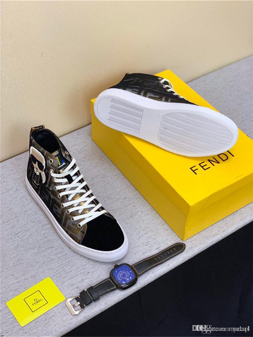 20ss 2019 Novo Estilo Homens Marcas Sapatos casuais Moda lona Sneakers Homens Running Shoes Zapatos De Hombre Tenis Masculino adulto YECQ1