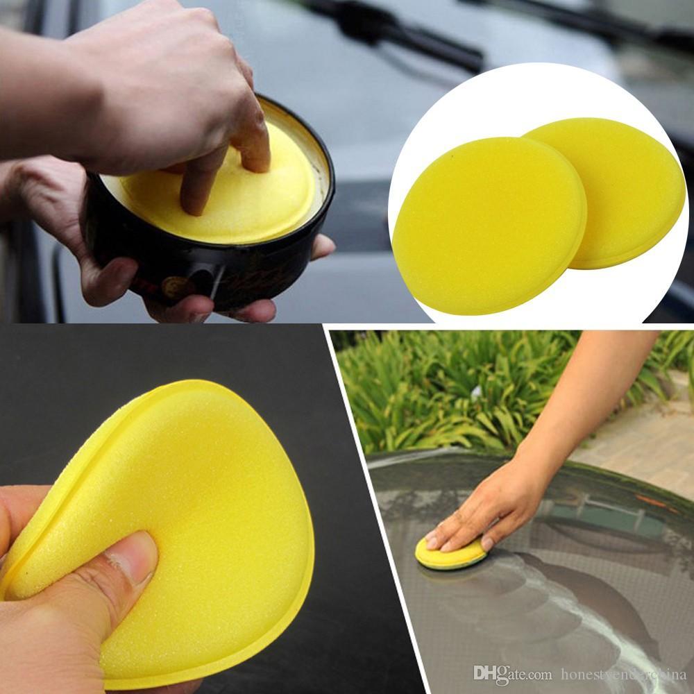 Auto 12PC Foam Sponge Waxing Wax Applicator Pad CARS Vehicle Glass Cleaning Sponges polishing pad