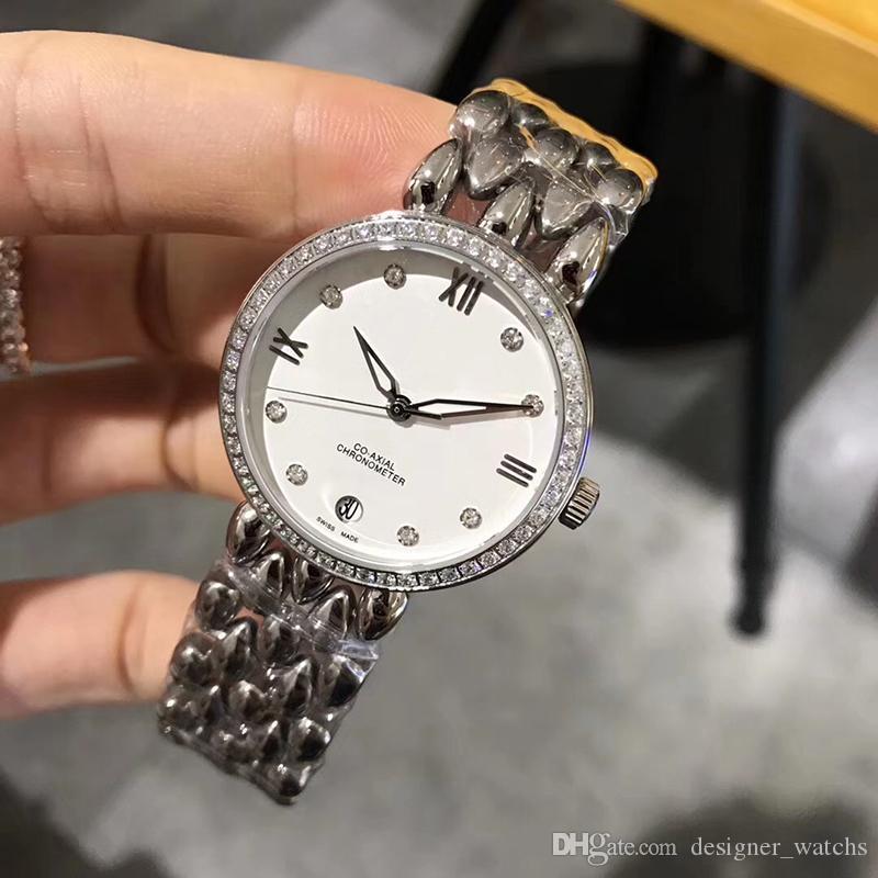 【code: OCTEU06】Novas senhoras relógio de quartzo mulheres marca de moda luxo relógio de pulso digital 5atm impermeável Montres de Luxe derramar femmes 2020
