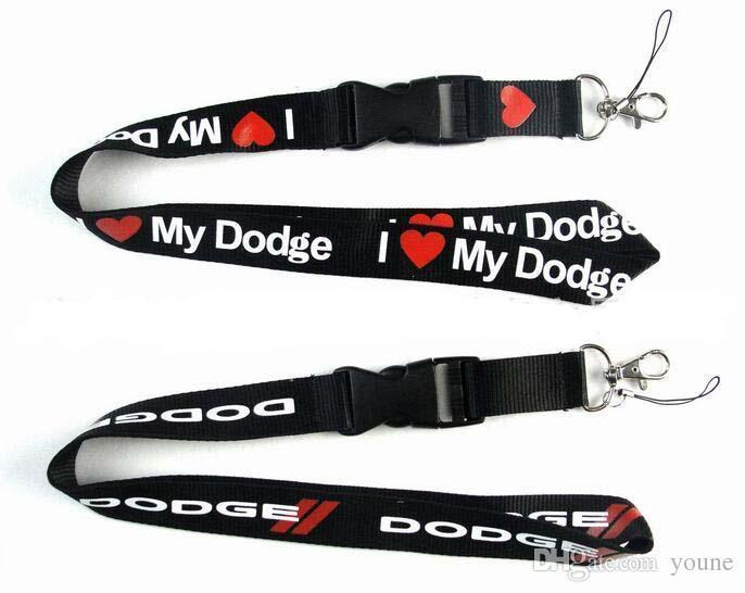 New 10 Pcs Auto Brand Lanyards Detachable Id Badge Holder Assorted Colors Brand New Black Can Choose Deign