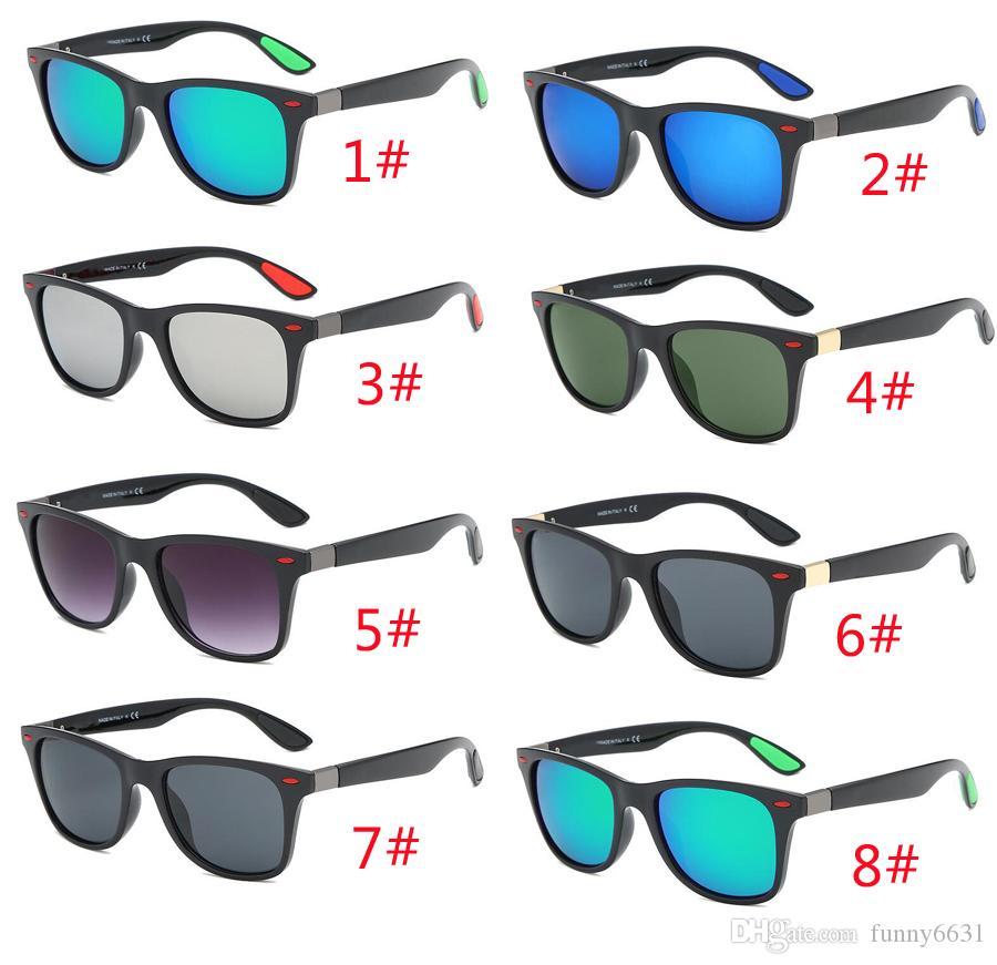 лето новейший мода мужчины вождения солнцезащитные очки велосипедные очки на открытом воздухе Sprot солнцезащитные очки унисекс выпученными пляжные очки 8Colors бесплатная доставка