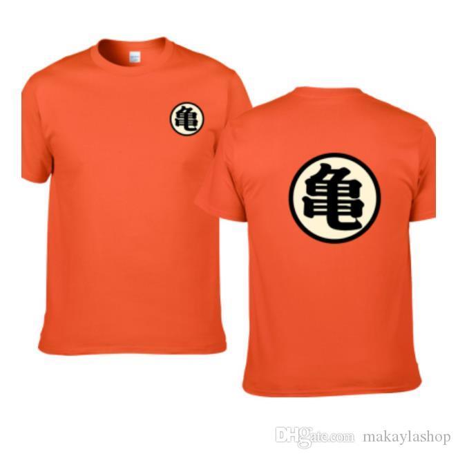Dragon Ball Master Roshi-T-Shirt Mann-Sommer-Top Dragon Ball Z Super Goku Cosplay Witzige T-Shirts Anime Vegeta T-Shirt oben
