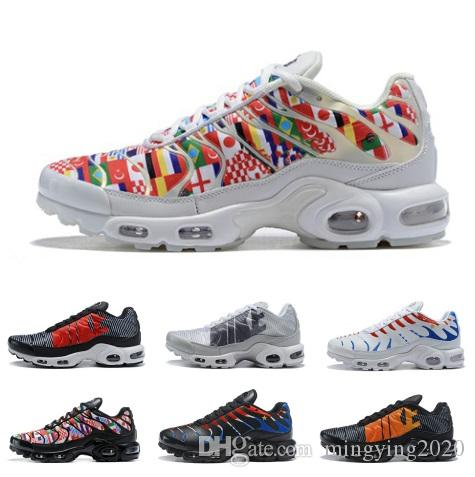 Mercurial TN Plus Mens Scarpe da corsa per uomo Casual Coppa del mondo Sneakers Donna Multicolor Sport Athletic Outdoor Hot Hiking Scarpe da jogging
