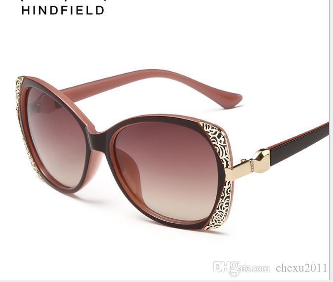 Top fashion sunglasses Fashionable metal toad glasses Major Lady's Sunglasses