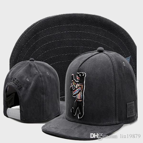 Cayler Sons Berlín oso gorras de béisbol 2020 Moda Hombres hueso Gorras Hip Hop Deportes sombreros del Snapback de las mujeres
