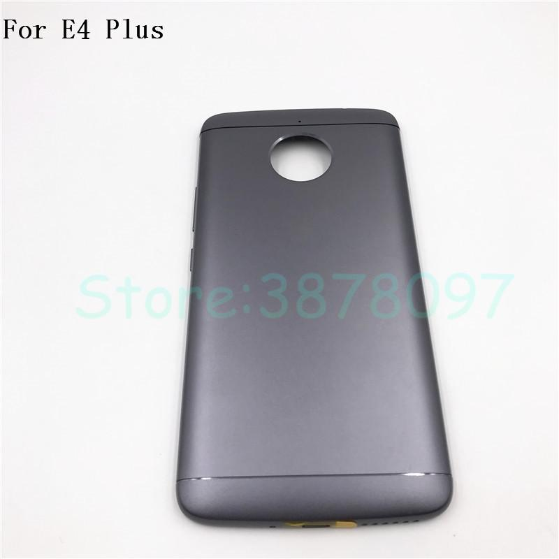 promo code 69138 7715d 2018 Back Battery Cover Housing For Motorola Moto E Plus 4th Gen E4 Plus  E4Plus Rear Cover With Logo From Yangt520, &Price; | DHgate.Com