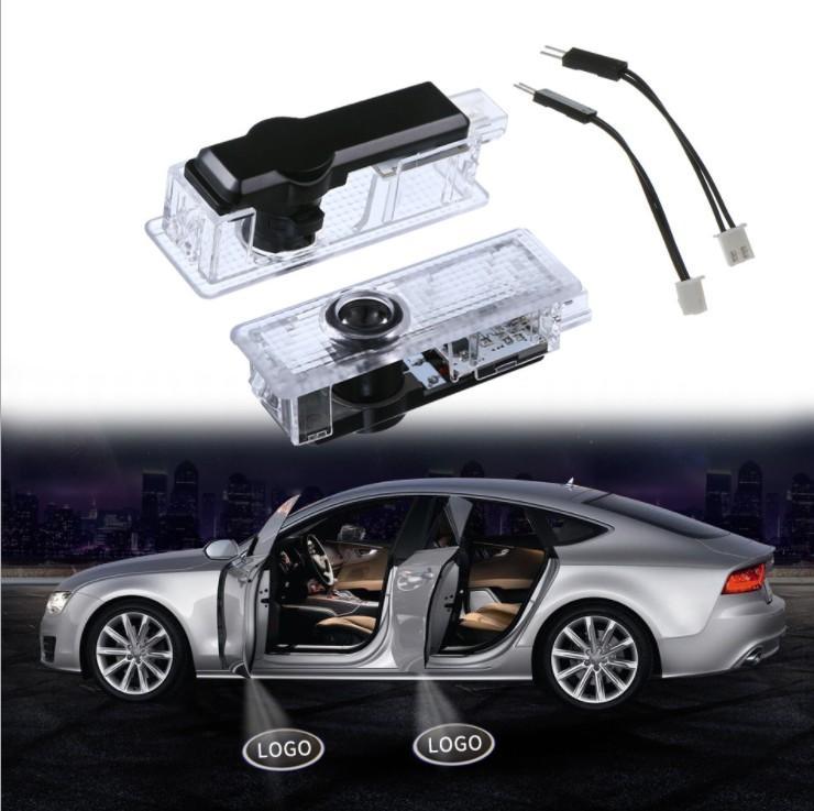 المصنع مباشرة ينطبق BMW أهلا ضوء LED الباب شعار خفيفة مخصصة ليزر إسقاط الضوء