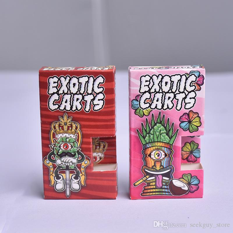 Mart Exotic Cereal Cart Dank Vape Cartridges Packaging Bag 50 Flavor  Optional For 1 0ml G5 Plastic Cart 510 Thread Ceramic Atomizer Dank Tan  Coil