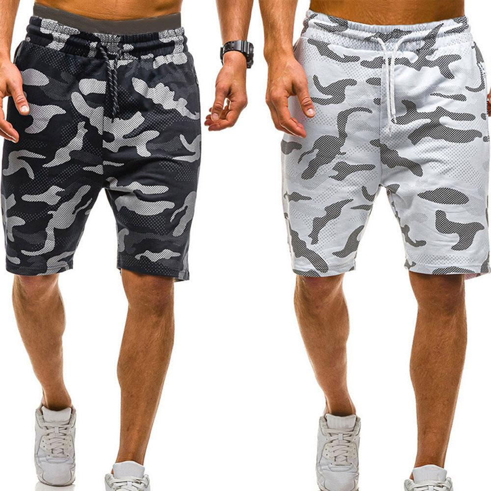 2020 Man Short New Men Camouflage Shorts Casual Male Hot Sale