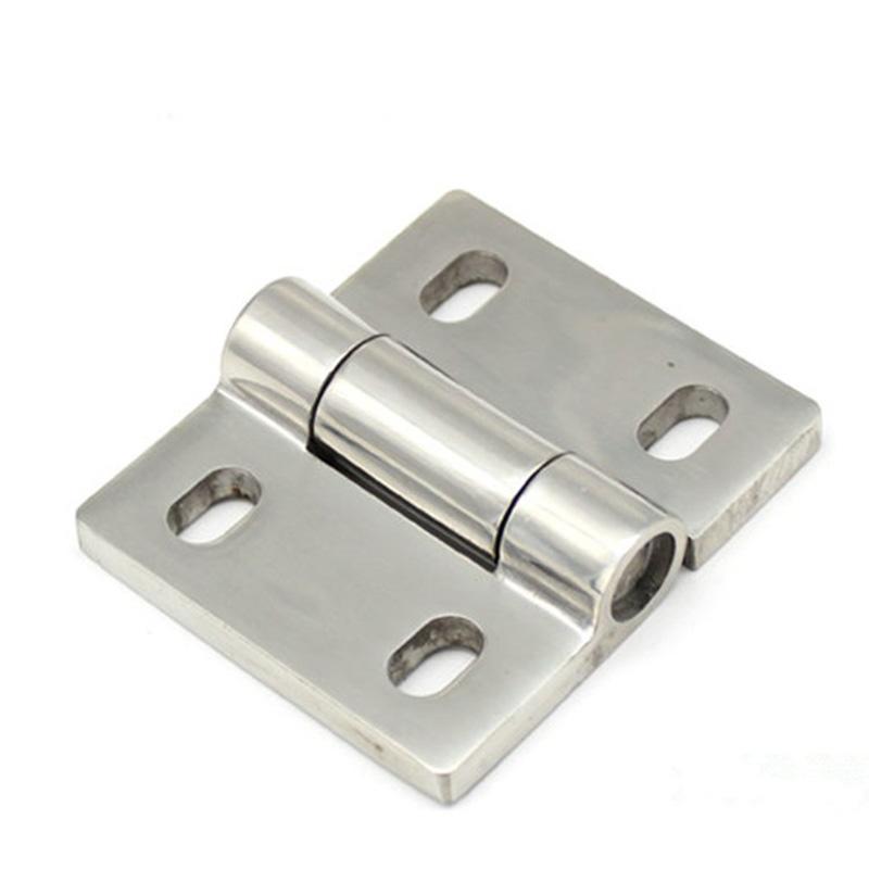 72 * 84mm kapı menteşesi dağıtım Kabine PS Anahtarı Kontrol kutusu ağ vaka enstrüman Tekne yat kabine menteşe uydurma donanım parçası