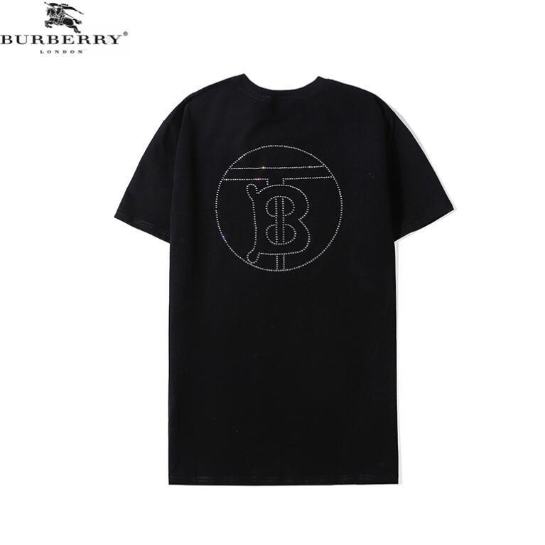 Camiseta ocasional para hombre Ropa de diseño Camisa Negro Blanco Naranja S-XXL de la mezcla del algodón de cuello redondo manga corta de dibujos animados Imprimir