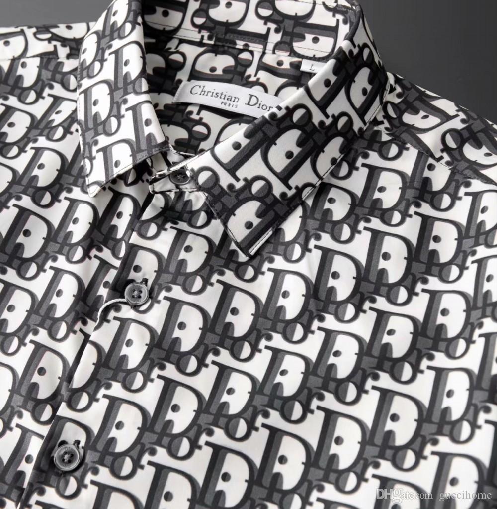 2020 nuovi uomini camicie da sera del progettista casuali di affari della camicia 27 marchio di moda i vestiti degli uomini all'ingrosso cotone di alta qualità camicia a manica lunga