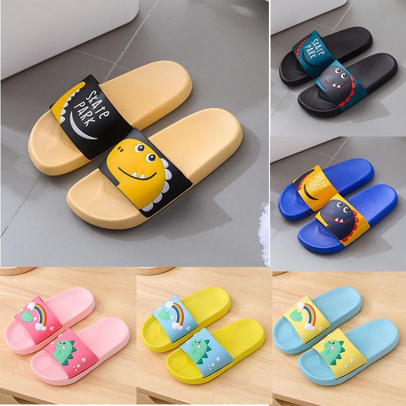 2020 Sommer-Frauen-Mann-PVC Bad Hausschuhe Anti-Rutsch-Indoor Mode Schuhe Mädchen Junge Kinder Flip-Flop Home Designer Hausschuh