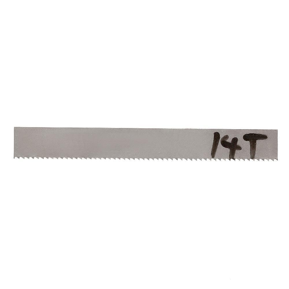 "44-7//8/"" x 1//2/"" x 0.025/"" x 14tpi Bimetal Band Saw Blade for Metal 1140mm x 13mm"