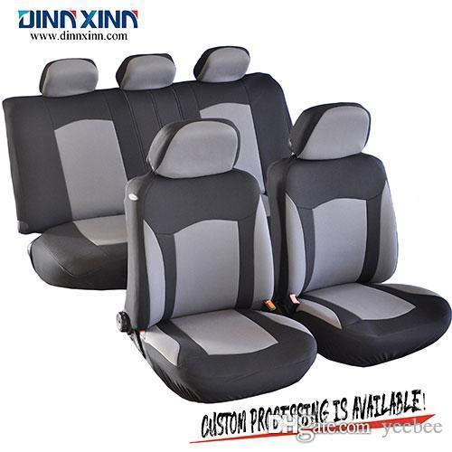 DinnXinn 111203F9 Mercedes 9 pcs full set velvet pet car seat covers for cars Wholesaler from China