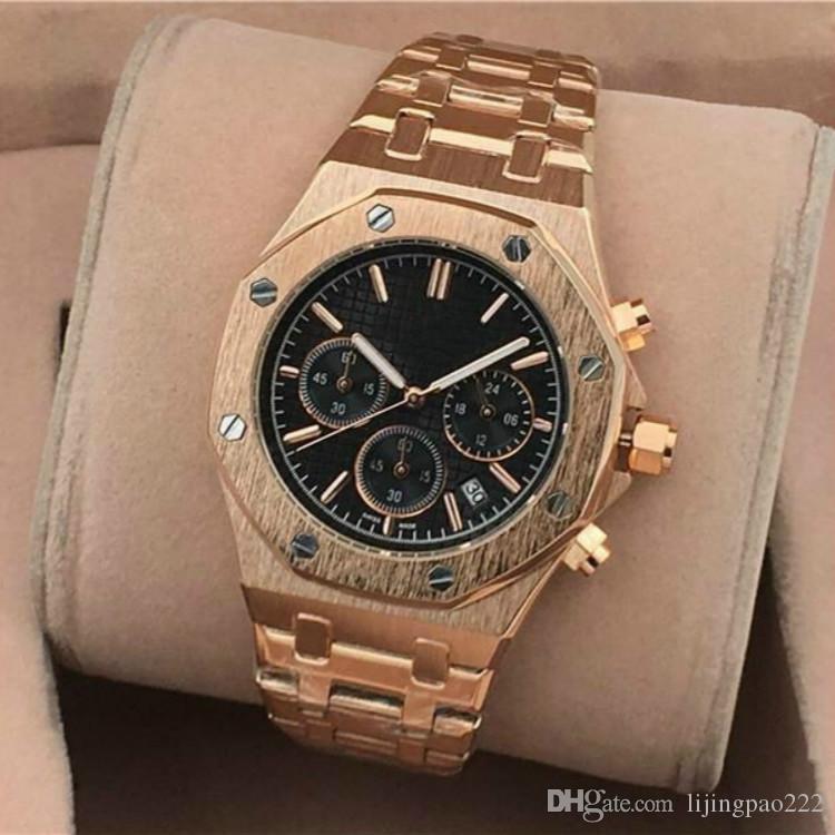 2020 quartzo Casual esportes militares Top vendendo um pulso dos homens relógio de pulso de aço completo masculina relógio à prova d'água Relógio Masculino