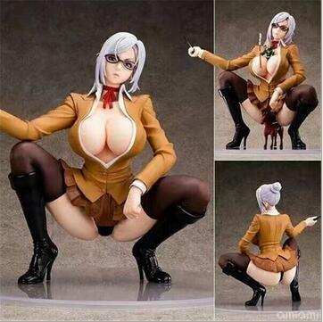 New Creative Prison School Meiko Shiraki Sexy Anime Action Figure PVC New Collection figures toys Collection for Christmas gift T191022