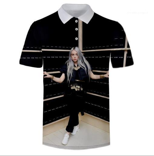 Lagerfeld O Yaka Kısa Kollu Casual Bayan tişörtleri Yaz Bayan Giyim Moda Gevşek Baskı Tasarımcısı Kadınlar